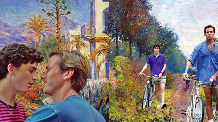 Genius Instagram account merges 'Call Me By Your Name' scenes with Monet paintings