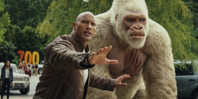 The Rock threatened to quit 'Rampage' unless the ending was changed