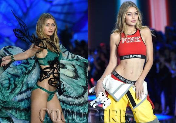 Gigi Hadid Tears Up The 2015 Victoria's Secret Fashion Show With THESE Sexy Looks!