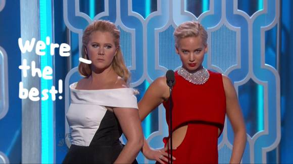 Amy Schumer Shares Text Convo With Jennifer Lawrence & It's As Funny As You'd Expect!