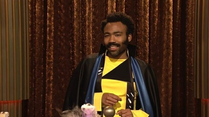 Lando shows up on 'SNL' to hilariously honor all the Black people in space