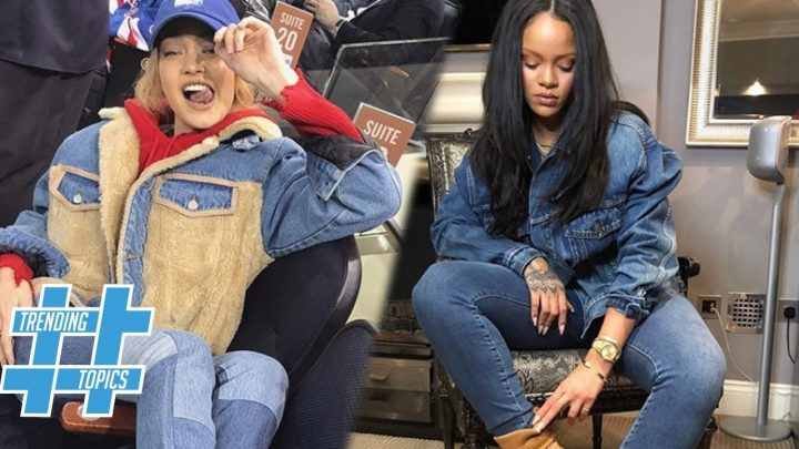 Gigi Hadid & Rihanna Prove Denim on Denim Is The Hottest Fashion Trend Of 2018 | Trending Topics