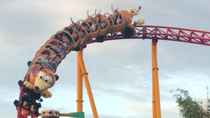 I went on the Slinky Dog Dash coaster in Disney World on opening day — and it's one of the best new rides at the park