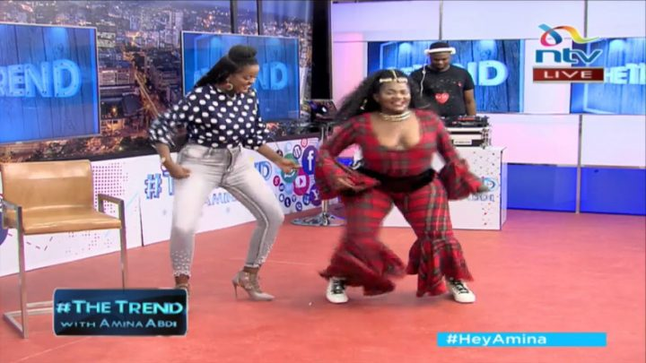 Busiswa brings some Jozi energy on The Trend and she is amazing