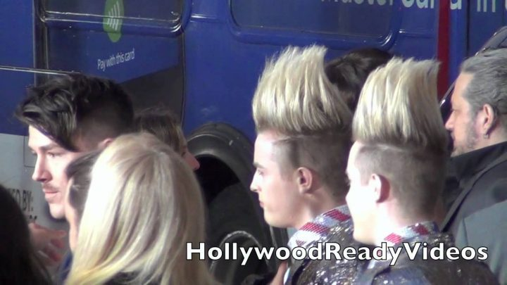 Tara Reid and Jedward at The American Reunion Premiere in Hollywood!