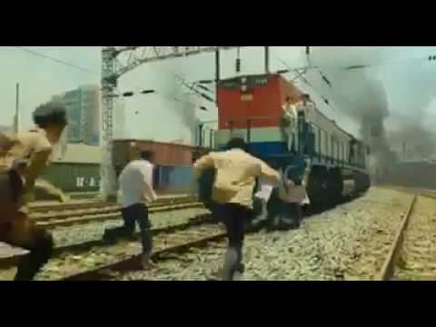Best scene from the Hollywood movie 'Train to Busan' hindi dubbed
