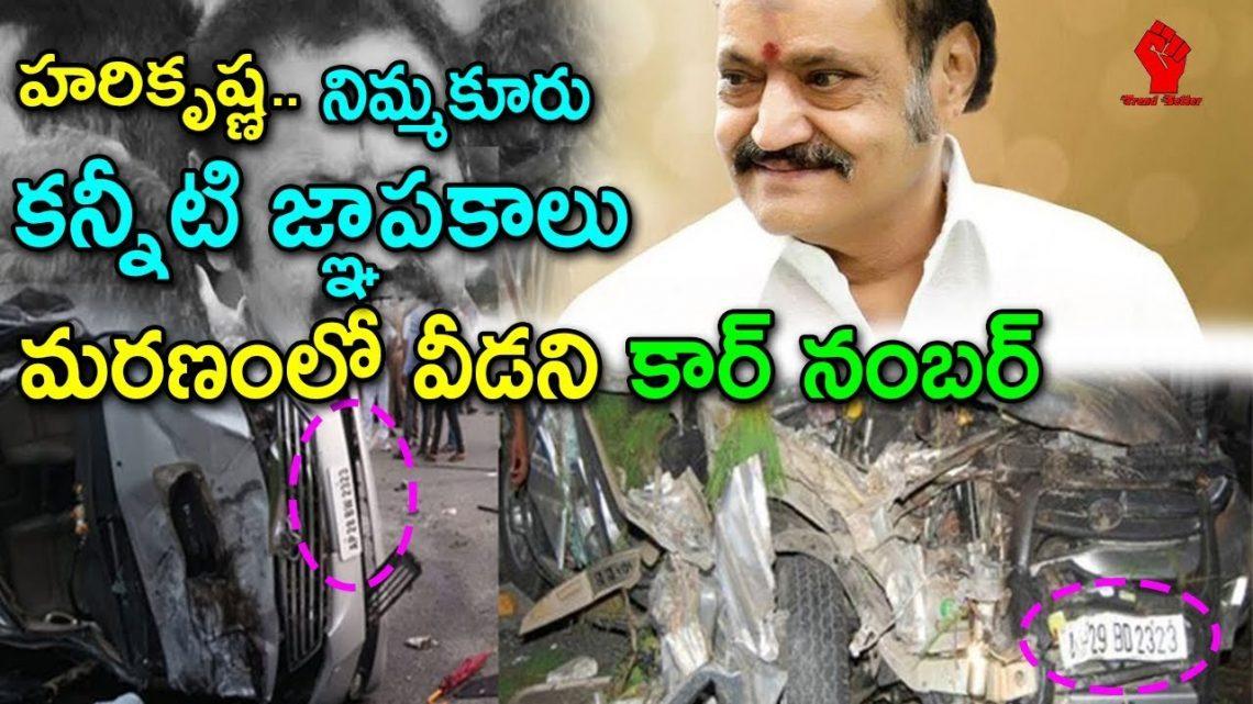 హరికృష్ణ..నిమ్మకూరు..కన్నీటి జ్ఞాపకాలు | Car Number Sentiment for Harikrishna and Janakiram Incident