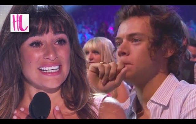 Harry Styles Cries During Lea Michele Cory Monteith Speech – Teen Choice Awards