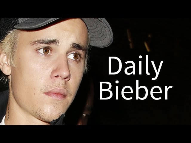 Justin Bieber Takes Himself On A Date