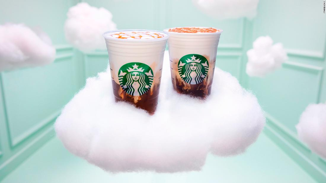 Starbucks' newest drink is made with egg-white powder