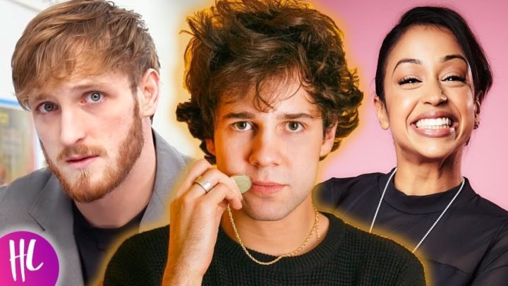 David Dobrik Shades Logan Paul & Talks Liza Koshy Break Up | Hollywoodlife