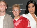 Jake Paul & Logan Paul Steal The Show At Cardi B's Fashion Nova Launch