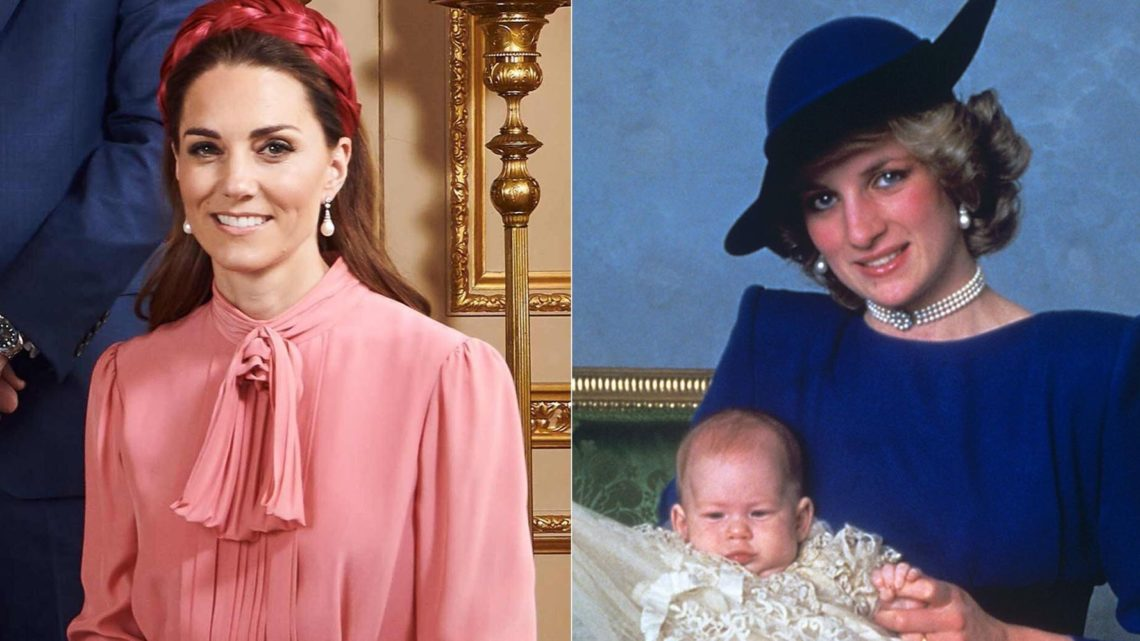 How Kate Middleton Honored Princess Diana At Archies Christening