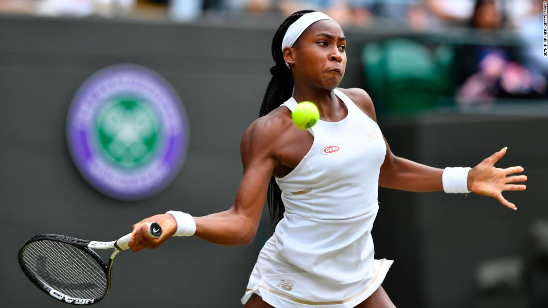 Coco Gauff on her Cinderella run at Wimbledon: 'I'm a fighter, and I'll never give up'