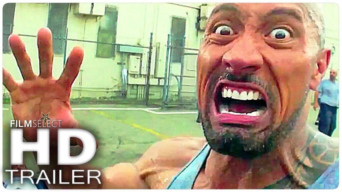 10 Best DWAYNE JOHNSON Movie Trailers
