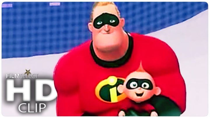 """INCREDIBLES 2 """"On Ice"""" Clip + Trailer (2018)"""
