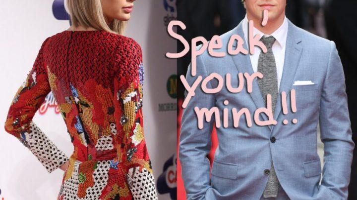 Joe Alwyn Is 'Very Supportive' Of Newly-Political Taylor Swift! – Perez Hilton