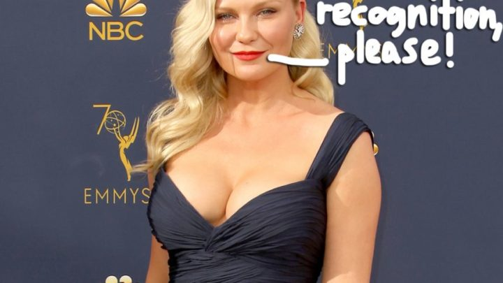 Kirsten Dunst Wants More Awards: 'Ive Never Been Nominated For Anything' – Perez Hilton