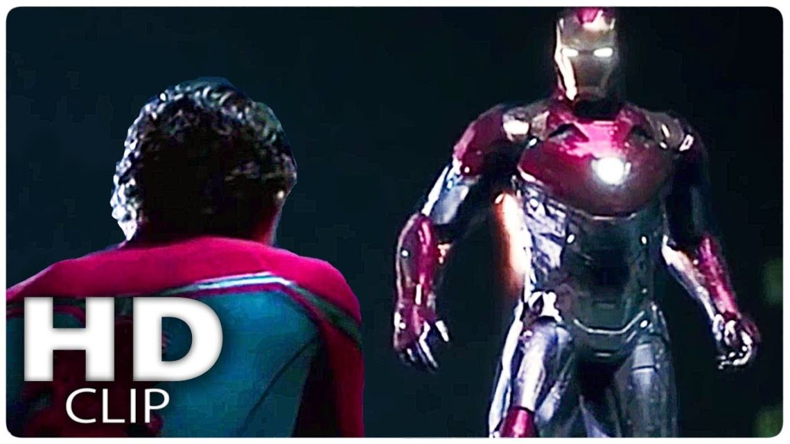 SPIDER MAN HOMECOMING Clips In Chronological Order (2017)