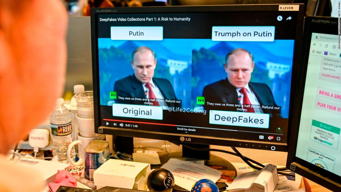 The number of deepfake videos online is spiking. Most are porn