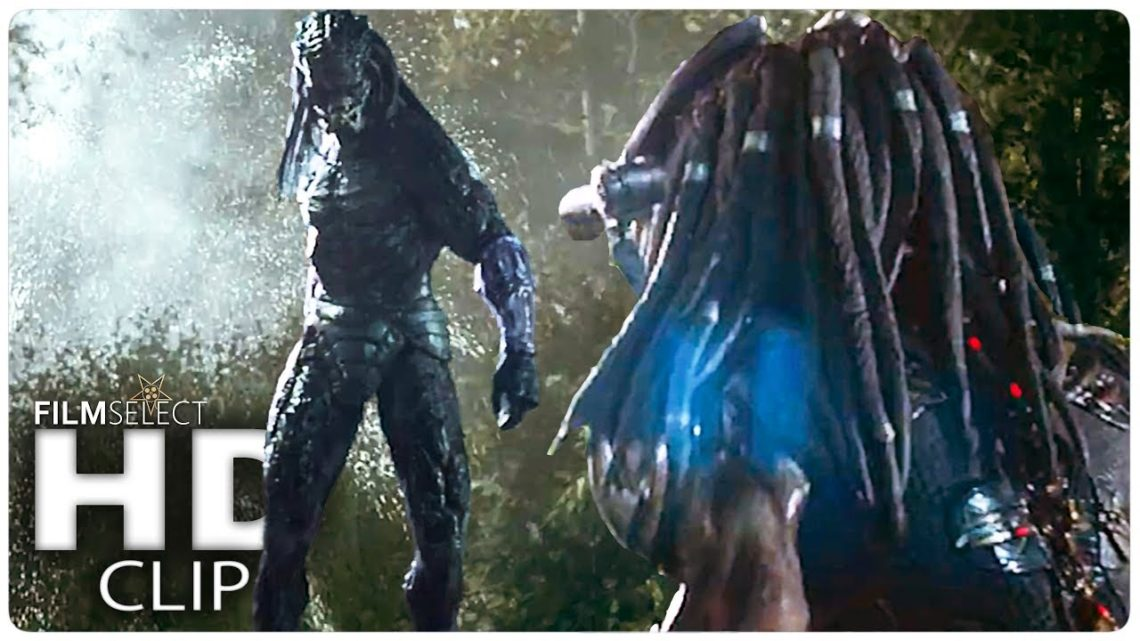 """THE PREDATOR """"Hunting Each Other"""" Clip (2018)"""