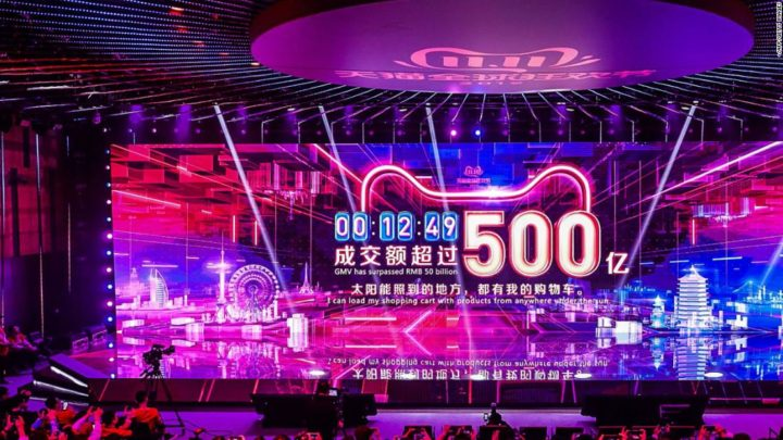 Alibaba Singles Day sales top $24 billion so far