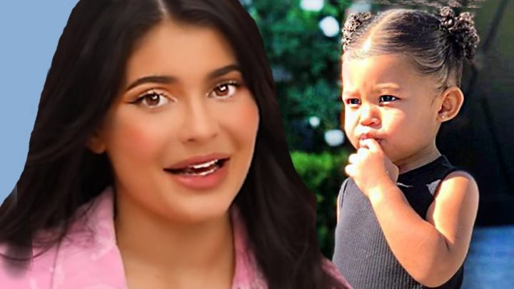 Kylie Jenner Gushes Over Travis Scott Photo Of Stormi