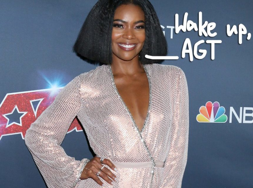 Gabrielle Union Was FIRED From 'America's Got Talent' After Reporting 'Offensive' Incidents: Report – Perez Hilton
