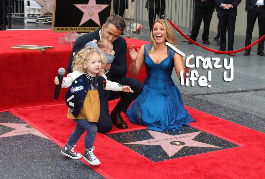 Blake Lively Talks Life With Three Daughters – 'We're Outnumbered' – Perez Hilton