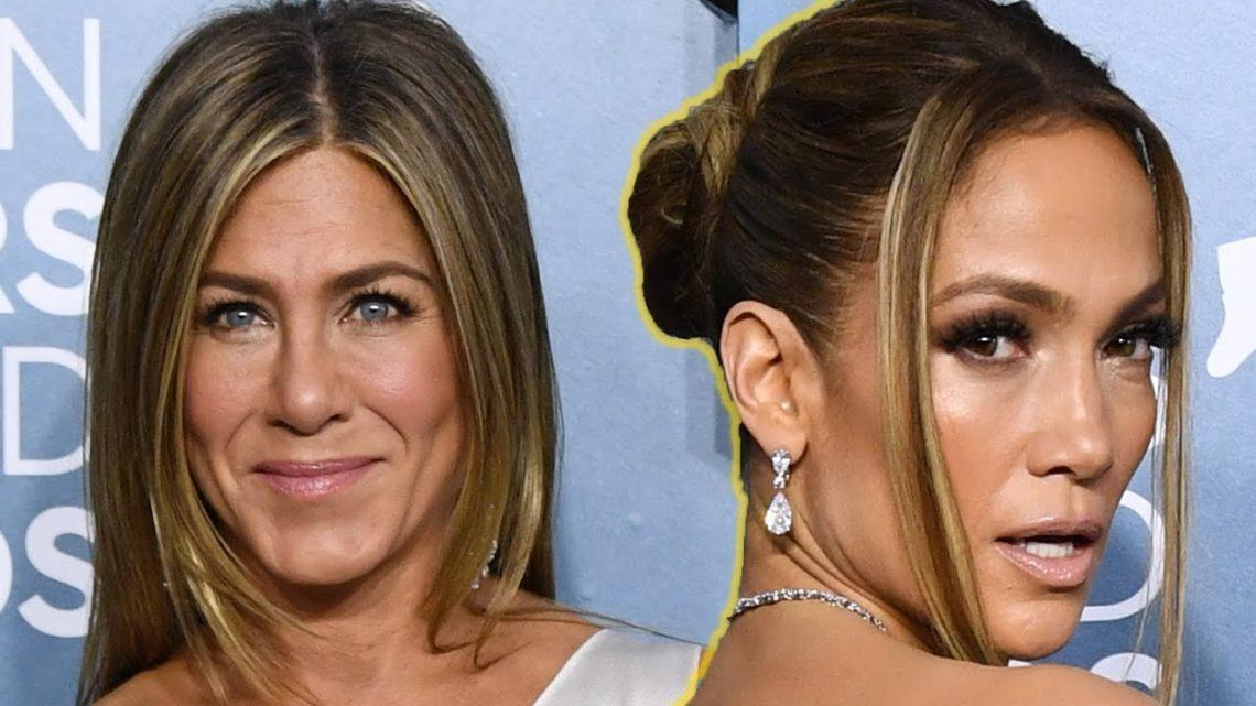 Jennifer Aniston & Jennifer Lopez SAG Awards 2020 Best Dress
