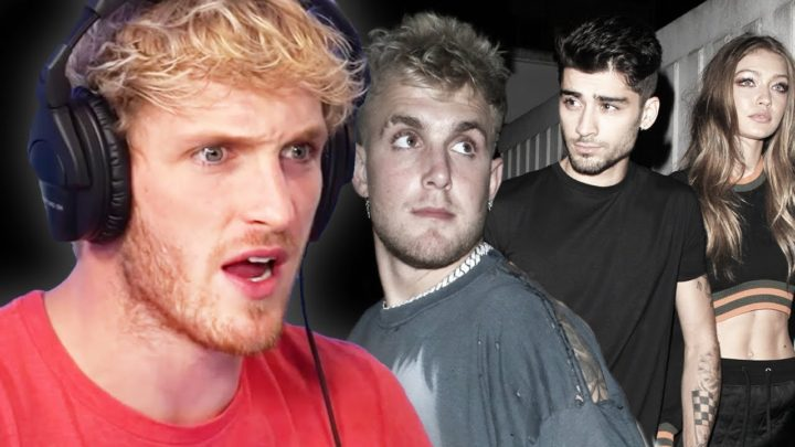 Logan Paul Reacts To Jake Paul VS Zayn & Gigi Hadid Drama