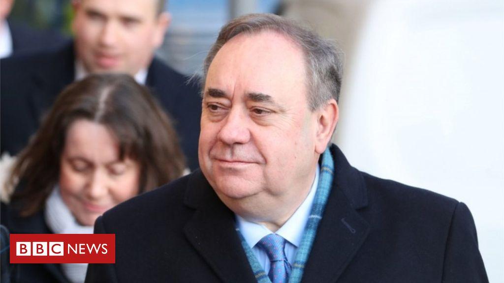 Woman tells court Alex Salmond 'pounced' on her