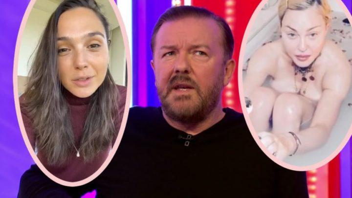 Ricky Gervais SLAMS Rich Celebs Complaining About Quarantine! – Perez Hilton
