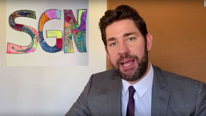 John Krasinski hosts food edition of 'Some Good News' with Guy Fieri and Martha Stewart